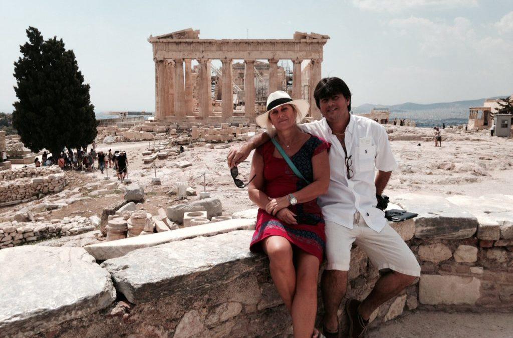The Rustic Gallery's Big Fat Greek Adventure Begins