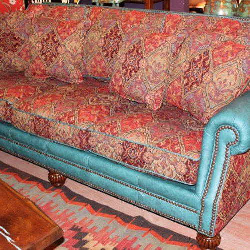 Hindley Cheyenne Turquoise Sofa