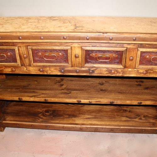 Pepe Marble Top TV Console