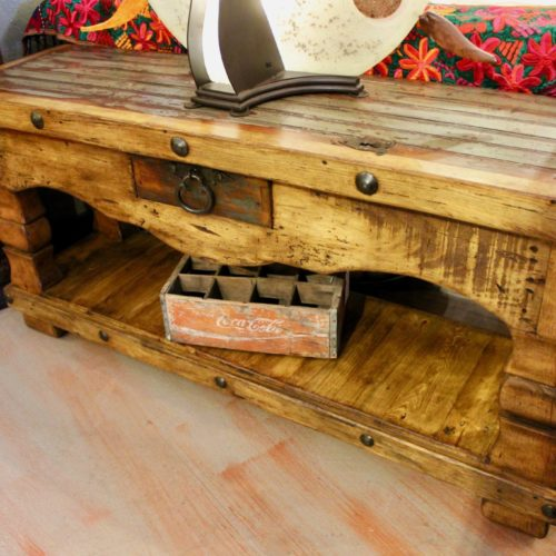 colonial style sofa table
