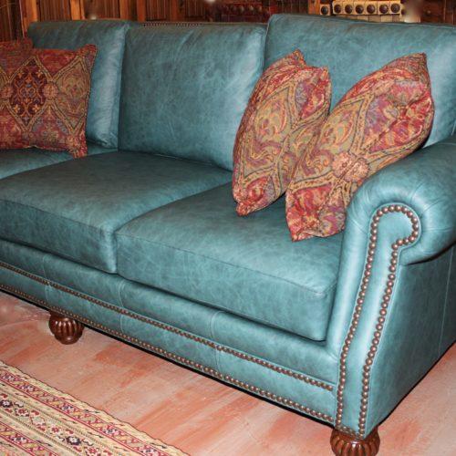 Omaha Turquoise Sofa