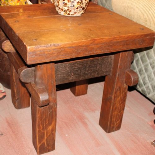 Viga Wormwood End Table