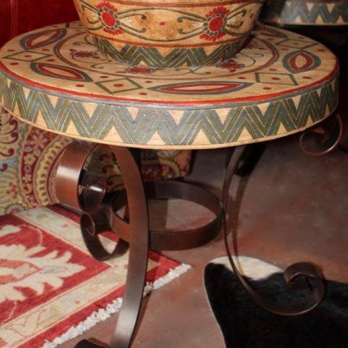 Terracotta End Table