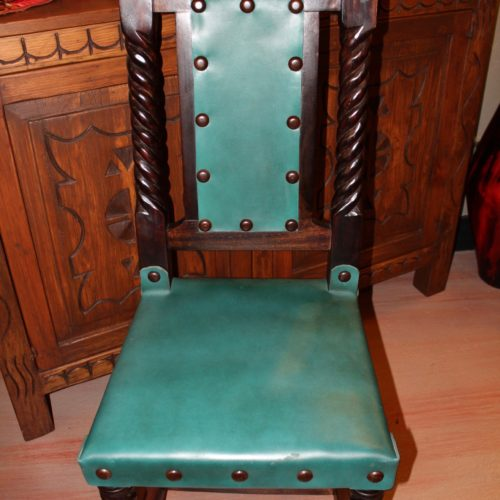 Rey Salomon Chair in Turquoise Verde