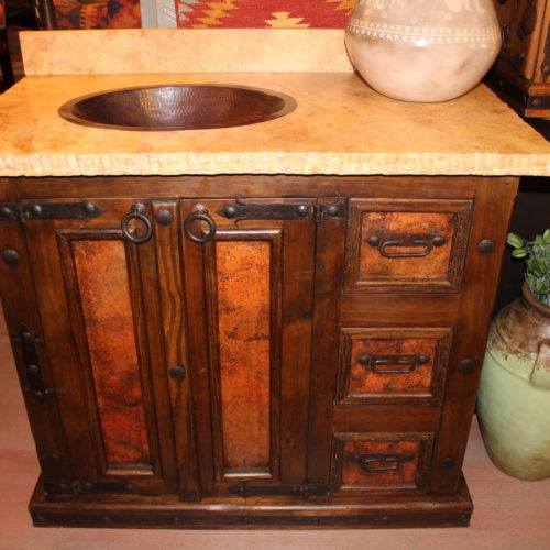 Chuy Copper Vanity