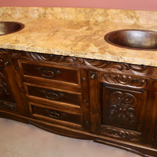 Jolie Carved Vanity