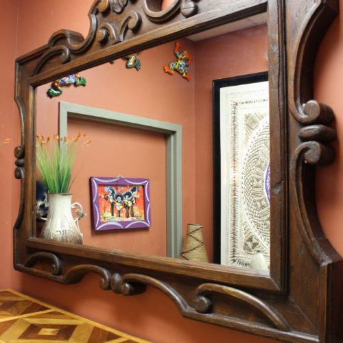 Colonial Carved Mirror Horizontal