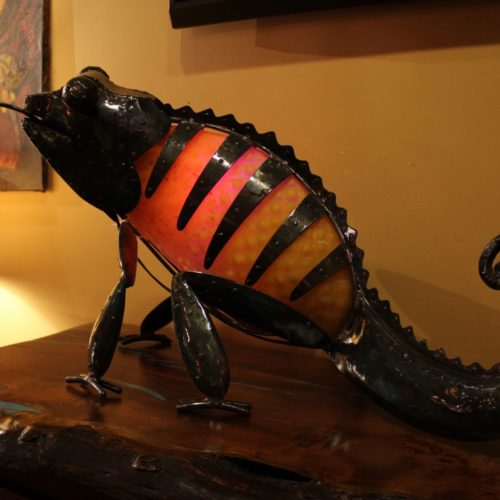 Changing Color Chameleon Lamp