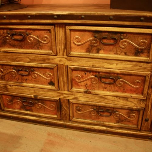 hacienda Copper Dresser