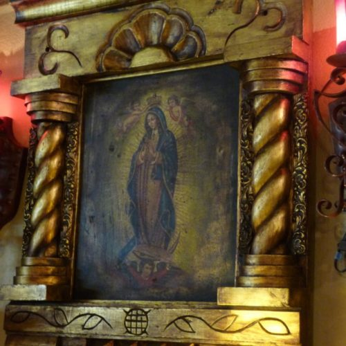 Virgen of Guadalupe in Niche