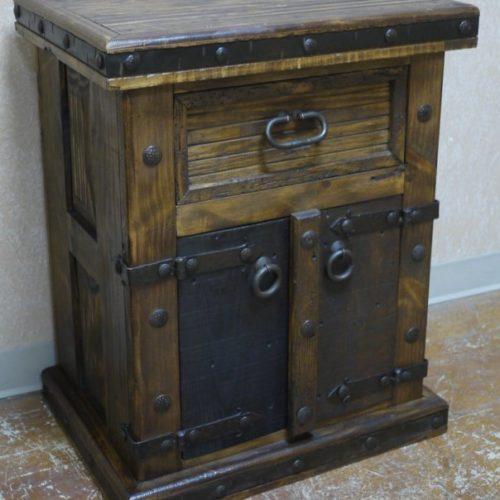 Old Door Nightstand