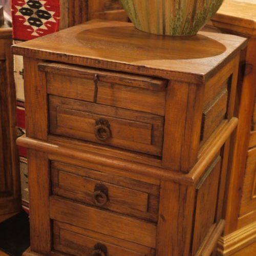 pine nightstand