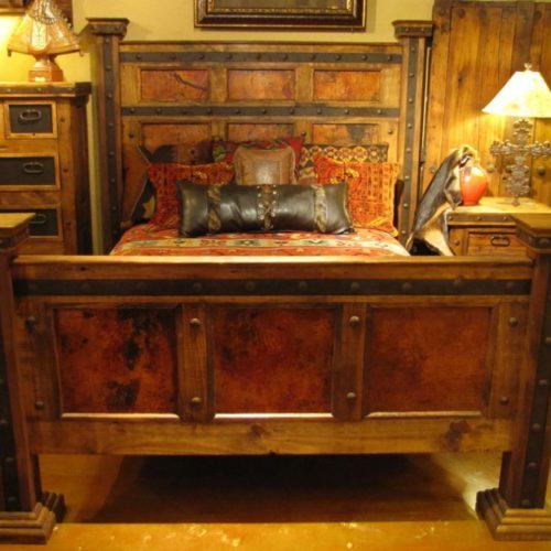 Hacienda Copper Bed