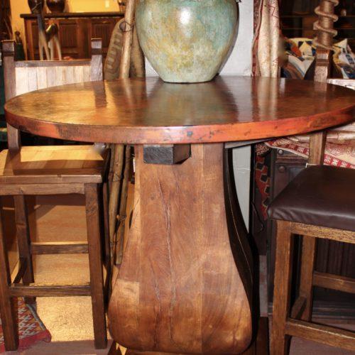 Copper Bistro Table
