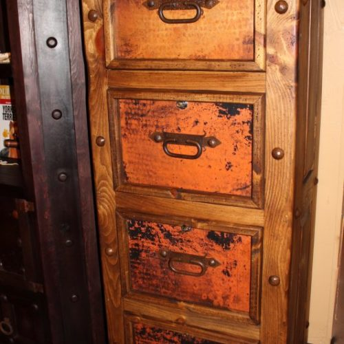 Hacienda Copper File Cabinet