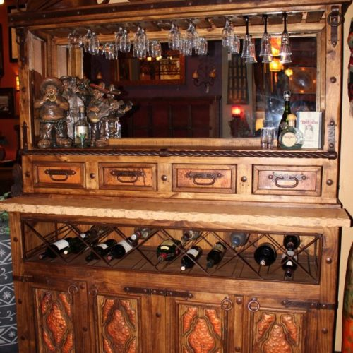 rustic Counter Bar