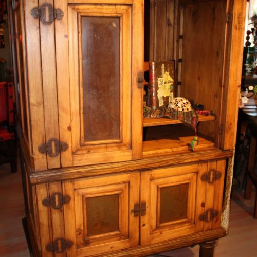 iron panels office armoire