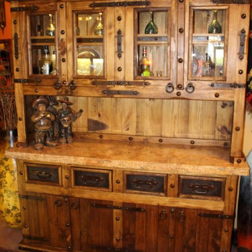 rustic hutch Marble Top