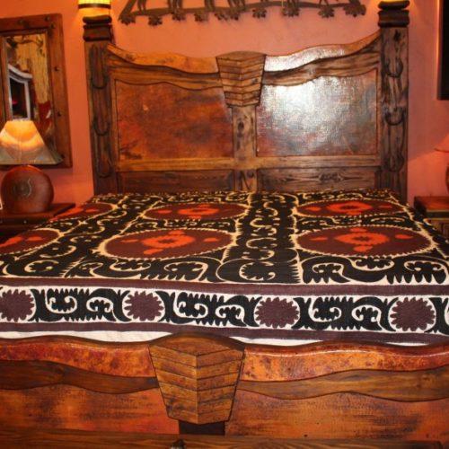 Copper Longhorn Bed