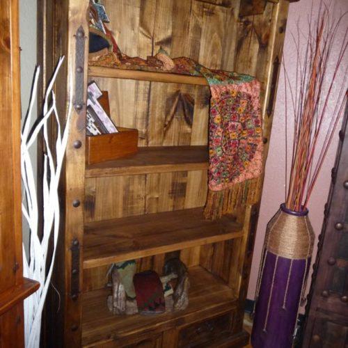 hacienda style bookcase