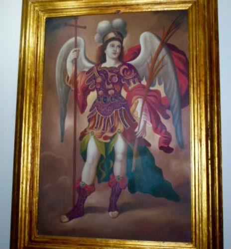 Archangel in Gold Frame