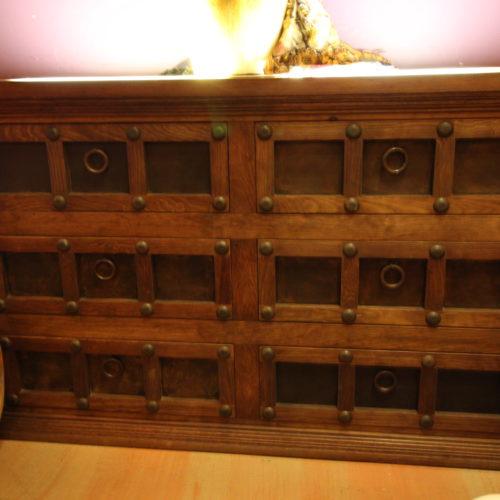rustic onyx dresser