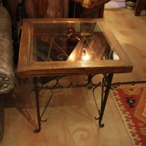 Old Gate End Table