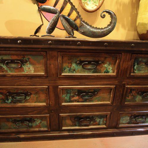 copper dresser
