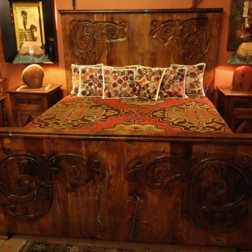 Mesquite Turquoise Inlay Bed