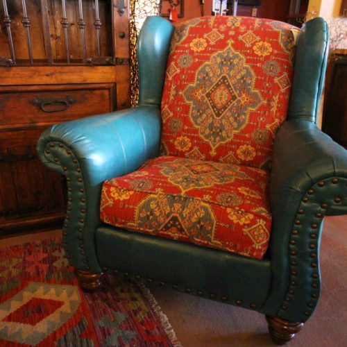 Blanketship Caribe Wing Back Chair