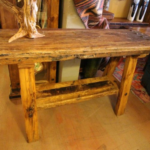 Reclaimed Wood Classic Sofa Table