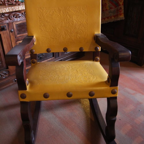 Argentina Rocking Chair in Yellow