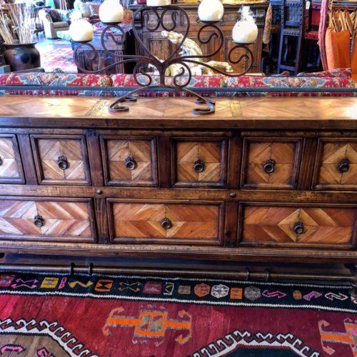Mesquite Floor Inlay Buffet
