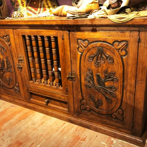 Carved Birds Wormwood Buffet
