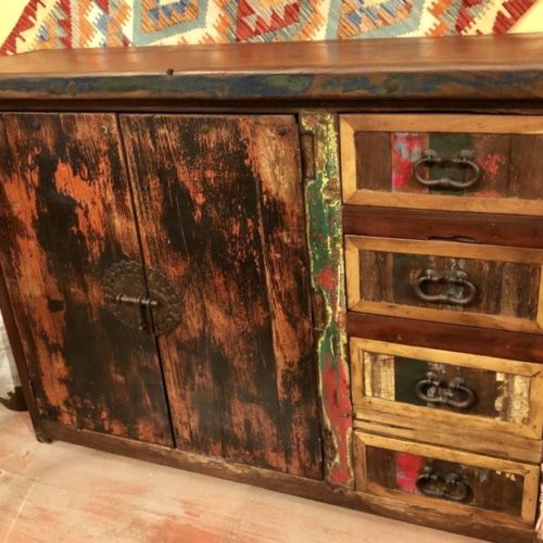 Chameleon Red Doors Small Buffet