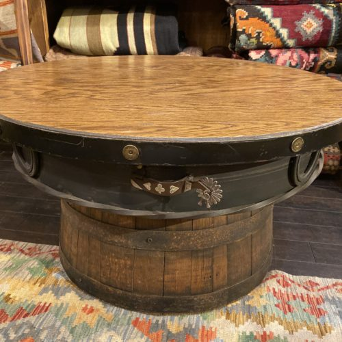 Outlaw Barrel Coffee Table