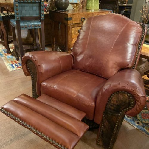 Waller Hunter Red Brown Glider & Swivel Recliner