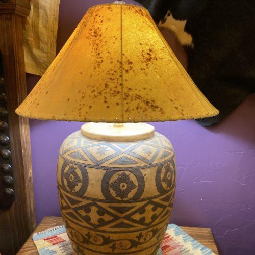Santa Fe Hand-Painted Ceramic Table Lamp