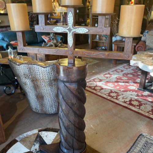 Spanish Column Candle Holder