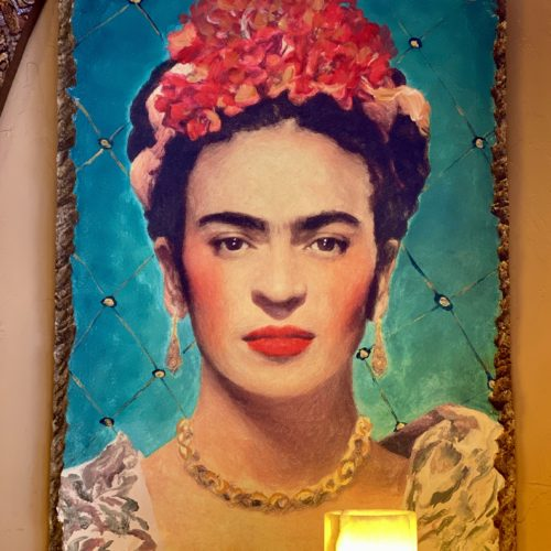 Faux Stone Frida