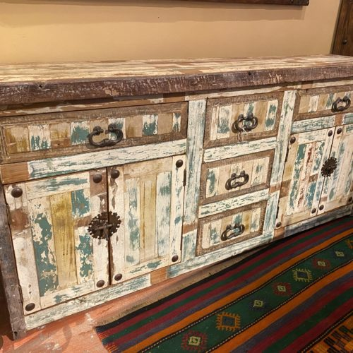 Chameleon Buffet in Distressed White