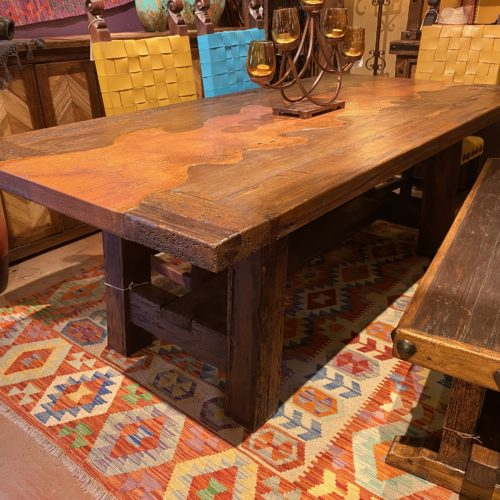 Copper River Inlay Table