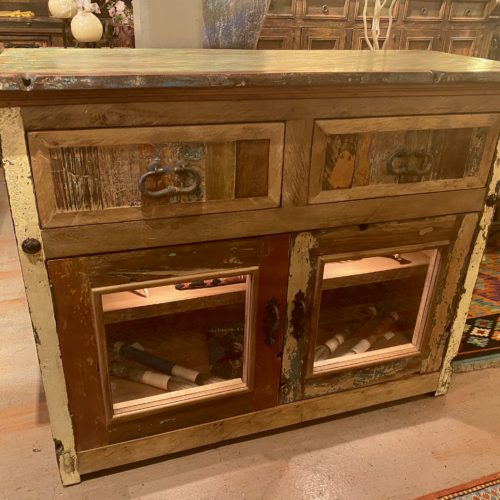 Chameleon Small Buffet with Glass Doors