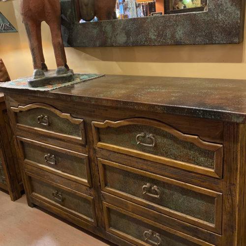 Patina Copper Alamo Dresser