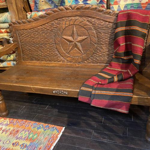 Texas Star Wormwood Bench