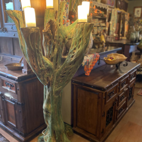 Reclaimed Cactus Floor Lamp (doable in other colors)