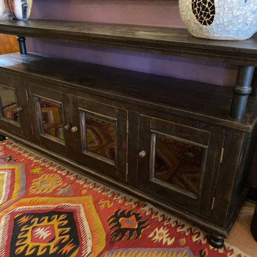 Industrial Back Wash TV Console