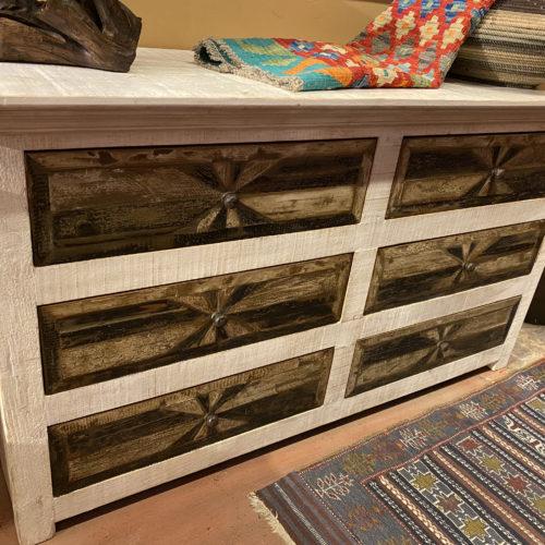 Starbust Dresser in Whitewash